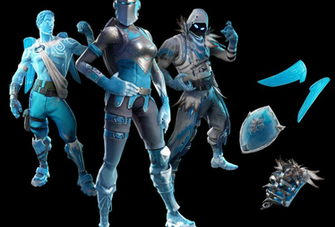 Fortnite Frozen Legends Skin Bundle Leaks Online Where Iced Over