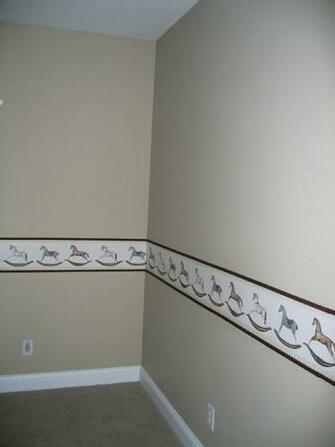 idea can be applied to any room with any border and any style molding