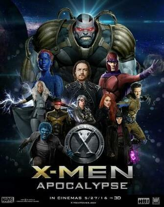 X Men Apocalypse 2016 Movie Poster Wallpaper Download Flickr