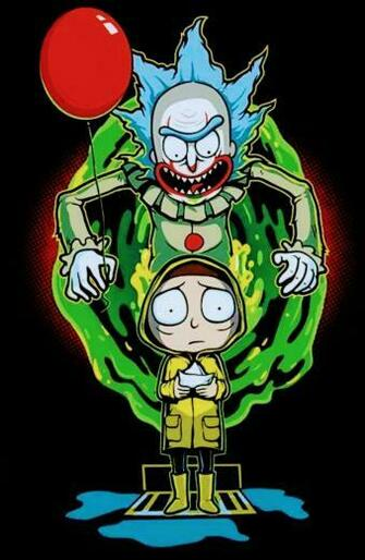 Rick and Morty x Pennywise RICK AND MORTY Rick morty