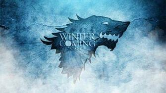 Stark logo wild wolf   winter is coming   Image Download   High
