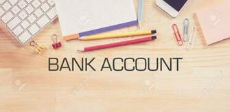 Business Workplace With BANK ACCOUNT Concept On Wooden Background