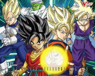 Wallpaper Dragon Ball Z Goku Vegeta Gohan y Piccolo Wallpapers