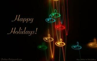 Happy Holidays Desktop Backgroundscom