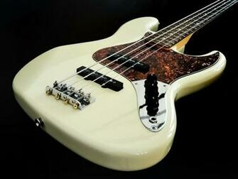 Fender Jazz Bass Wallpaper Olympic white jazz sound