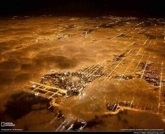 Aerial View of Chicago by Night Beauty However Defined