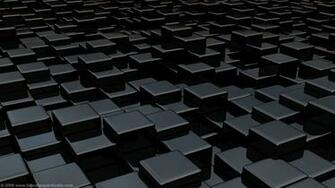 Black cube world wallpapers 1366x768