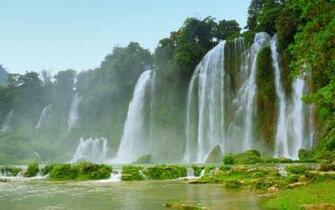 Exotic Waterfall HD Wallpaper Slwallpapers