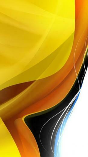 Yellow And White Background Wallpaper Abstract layers yellow orange