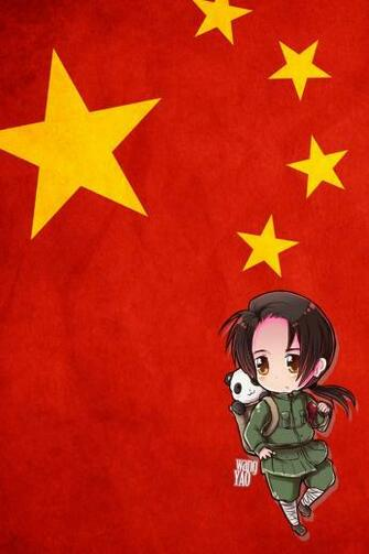 Hetalia iWallpapers   China by Dreamweaver38