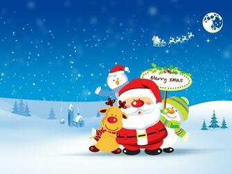 Cute Merry Christmas Wallpaper   HD Wallpapers