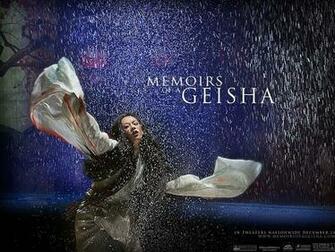 Memoirs Of A Geisha Memoirs Of A Geisha