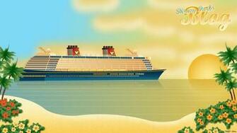 Tiki Tackett Disney Fantasy Wallpaper on the Disney Parks Blog