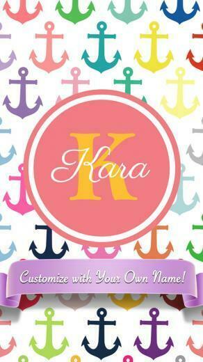 Shopper Designer Monogram Custom Wallpaper Background 2 Lifestyle
