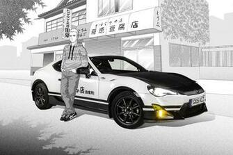 The Toyota GT86 Initial D Concept Is An Awesome Car Based Manga