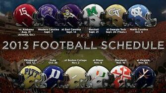 ACC releases 2013 football schedules