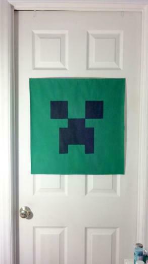 MINECRAFT BEDROOM MINECRAFT WALL DECOR kids room teenagers room or