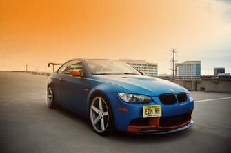 Blue BMW 1M HD wallpaper Wallpaper Flare