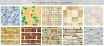 self adhesive wallpapers and brick effect self adhesive wallpapers