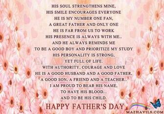 MAZHAVILS GREETINGS Fathers Day Poems