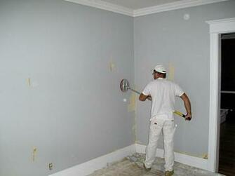 Sanding walls smooth after stripping wallpaper