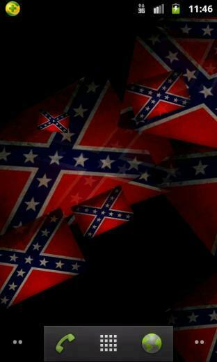 Confederate Flag live wallpaper android live wallpaper