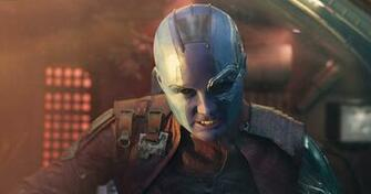 Thanos and Nebula Karen Gillan Teases a Confrontation