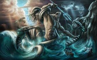 greek hd images kraken monsters mythology other poseidon sea wallpaper