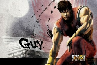 Super Street Fighter 4 Guy Wallpaper   1920x1280