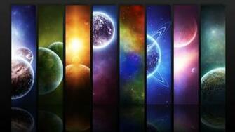 Planets widescreen wallpaper Wide WallpapersNET