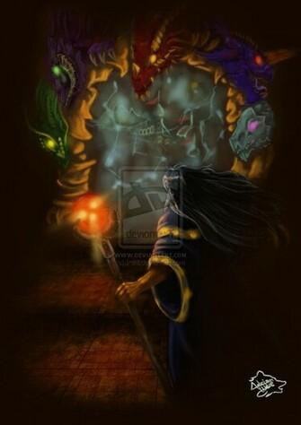 Raistlin Majere  Dragonlance by AdrianWolve
