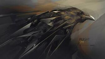 abstraction hq wallpaper raven wallpaper