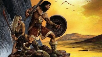 Record of a baffled spirit Conan the Barbarian the Romans and the