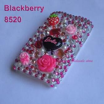 jpeg Rhinestone Bling Crystal Diamond Hard Case Cover BlackBerry
