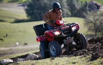 Download wallpaper Honda ATV FourTrax Foreman 2012 FourTrax Foreman