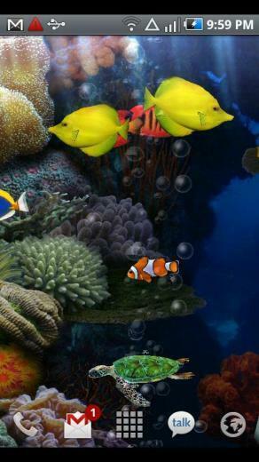 Aquarium Live Wallpaper 266 Android apk download
