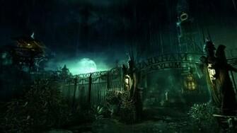 asylum batman arkham background wallpapers cool desktop