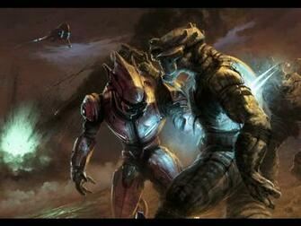 1024x768px Halo 4 Elite Wallpaper