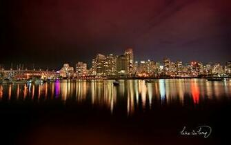 Vancouver City Nights Wallpapers HD Wallpapers
