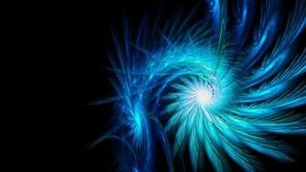 Blue Neon Wallpaper Spiral Light Background Dark Wallpapers