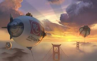 Big Hero 6 2014 Concept Art Wallpapers HD Wallpapers