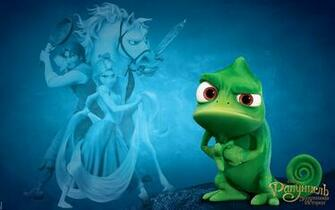 Tangled offical wallpapers tangled pascal 1680x1050 wallpapers for