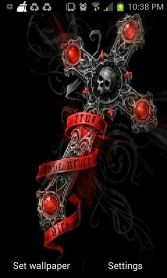 Gothic Cross Live Wallpaper Android Live Wallpaper download