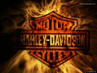 Fired Harley Davidson Wallpaper Harley Davidson Wallpapers