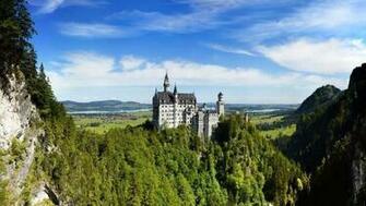 Wallpaper Neuschwanstein German Castle Mountains   Wallpapers HD