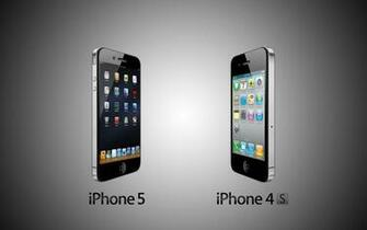 Iphone 5 Vs Iphone 4s HD Wallpaper ImageBankbiz