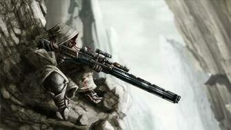 sniper marks man rifle fantasy hd wallpaper 1920x1080 a535