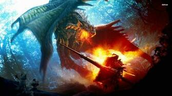 Dragon Battle Wallpapers Desktop Wallpapers