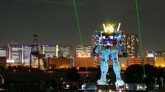 Tokyo Gundam Wallpaper 1920x1080 Tokyo Gundam Night