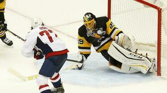 Marc Andre Fleury swallows hard and starts over the right way